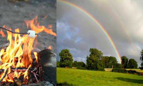 Eden Journal and Friends Campfire - Sunshine and Rainbows