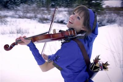 YouTube Creativity Series - Lindsey Stirling on Violin - Legend of Zelda, Link